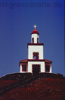 Kirchturm im El Gofo Gebiet, Hierro