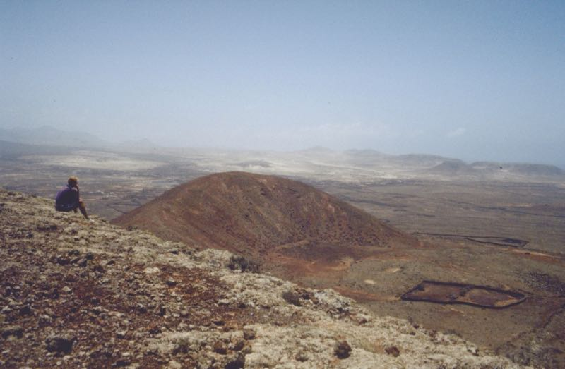 Vulkanberge im Norden von Fuerteventura
