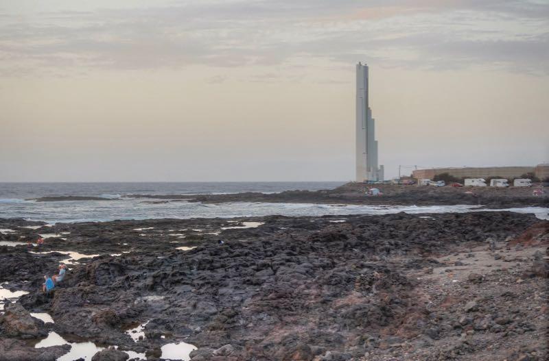 Leuchtturm, Faro de Punta de Hidalgo, Teneriffa